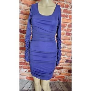 NWT Boulee Purple Long Sleeve Dress Size 0